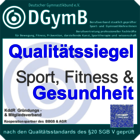 DGymB Qualitätssiegel Sport Fitness & Gesundheit